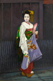 第67回展作品 「祇園の姉妹」